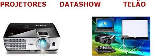 Locação e Aluguel de Projetor, Datashow e Telão SP